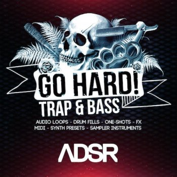 Сэмплы ADSR Sounds Go Hard! Trap And Bass