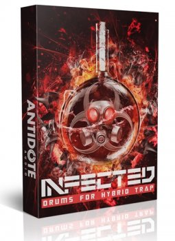 Сэмплы Antidote Audio Infected Drums For Hybrid Trap + Glitch Drums For Dubstep + Bonuses