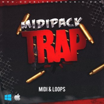 Сэмплы Double Bang Music Trap Midi Pack