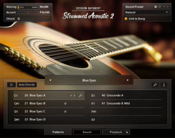 Библиотека сэмплов - NI Session Guitarist Strummed Acoustic 2 (KONTAKT)