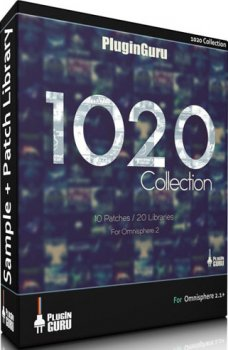 Пресеты Pluginguru The 1020 Collection for Omnisphere 2