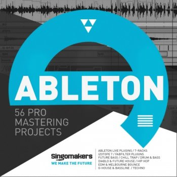 Проекты Singomakers 56 Ableton Pro Mastering Projects