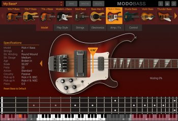 IK Multimedia MODO BASS v1.5.1 x86 x64