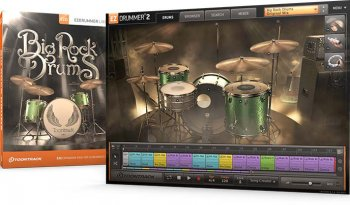 Toontrack EZX2 Big Rock Drums v1.0.1 (Win/OSX)