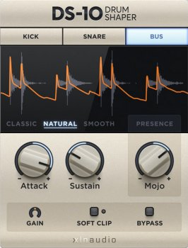 XLN Audio DS-10 Drum Shaper v1.0.3 x86 x64