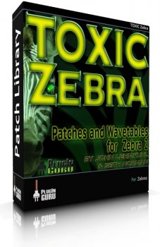 Пресеты PlugInGuru TOXIC Zebra Patches