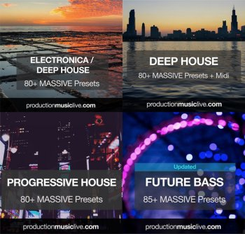 Пресеты Production Music Live Massive Presets Vol.1-10