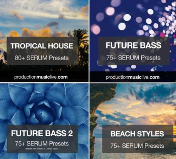 Пресеты Production Music Live Serum Presets Vol.1-4