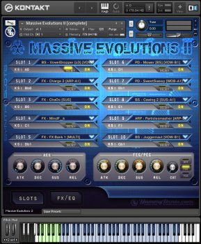 Библиотека сэмплов - YummyBeats Massive Evolutions II Bundle (KONTAKT)