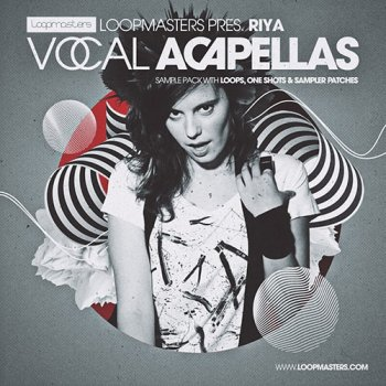 Сэмплы вокала - Loopmasters Riya Vocal Acapellas