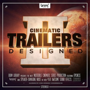 Звуковые эффекты - Boom Library Cinematic Trailers Designed 2 Stereo