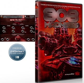 Библиотека сэмплов - The Beat House Kits 808 Madness (KONTAKT)