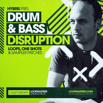 Сэмплы Loopmasters Hybris Drum and Bass Disruption