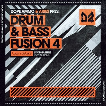 Сэмплы Loopmasters Dope Ammo and Aries Drum and Bass Fusion Vol 4