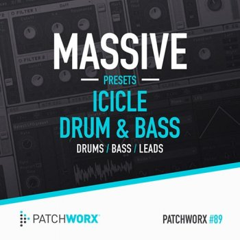 Сэмплы Patchworx 89 Icicle Drum and Bass Massive Presets
