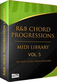 Сэмплы Tru-Urban The R and B Chord Progressions Vol. 5