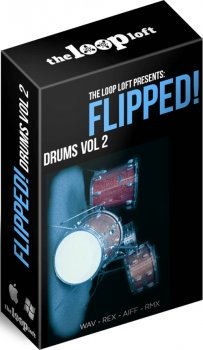 Сэмплы ударных - The Loop Loft Flipped Drums Vol 2