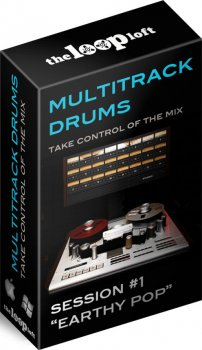 Сэмплы ударных - The Loop Loft Earthy Pop Multitrack Drums Session Bundle