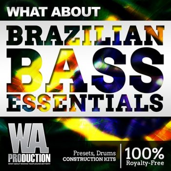 Сэмплы WA Production What About Brazilian Bass Essentials