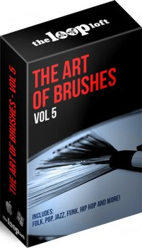 Сэмплы ударных - The Loop Loft The Art of Brushes Vol 5