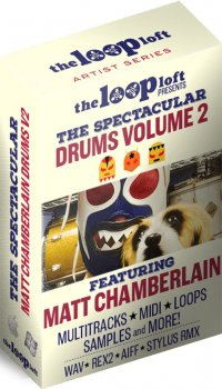 Сэмплы The Loop Loft Matt Chamberlain Drums 2