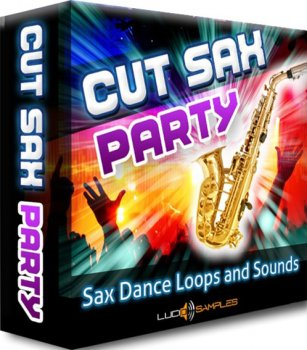 Сэмплы саксофона - Lucid Samples Cut Sax Party