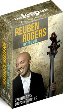 Сэмплы The Loop Loft Reuben Rogers Upright Acoustic Bass Loops Vol 1