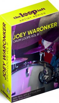 Сэмплы ударных - The Loop Loft Joey Waronker Drums Vol 3