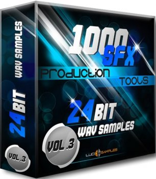 Сэмплы Lucid Samples 1000 SFX Production Tools Vol. 3