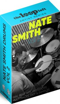 Сэмплы ударных - The Loop Loft Nate Smith Drum Loops Vol 2