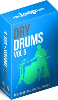 Сэмплы The Loop Loft Dry Drums Vol 5