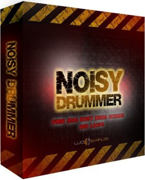 Сэмплы Lucid Samples Noisy Drummer