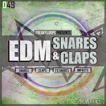 Сэмплы Freaky Loops EDM Snares and Claps
