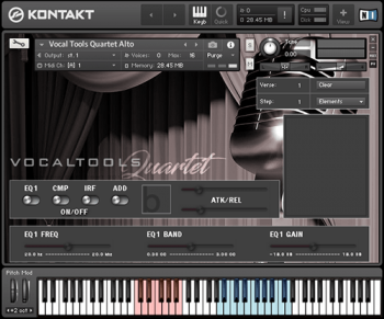 Библиотека сэмплов - Bela D Media Vocal Tools Quartet (KONTAKT)
