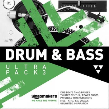 Сэмплы Singomakers Drum and Bass Ultra Pack 3