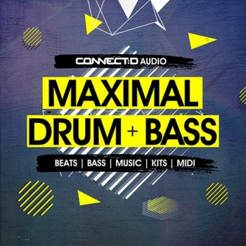 Сэмплы CONNECTD Audio Maximal Drum and Bass