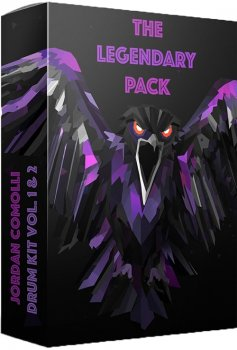 Сэмплы Jordan Comolli Presents THE LEGENDARY PACK Drum Kit Vol. 1 and 2