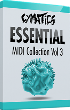MIDI файлы - Cymatics Essential MIDI Collection Vol.3: Arp Edition