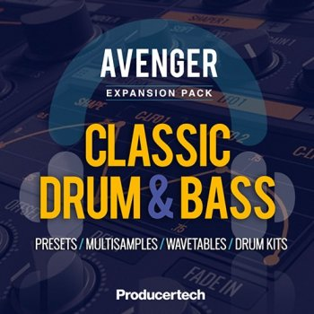 Пресеты Producertech Avenger Classic Drum and Bass Expansion Presets