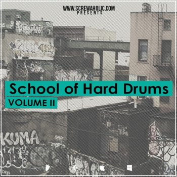 Сэмплы Screwaholic School Of Hard Drums Vol.2