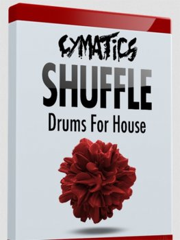 Сэмплы Cymatics Shuffle Drums for House