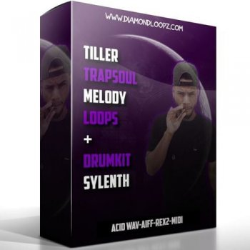 Сэмплы Diamond Loopz Trapsoul Melody Loops