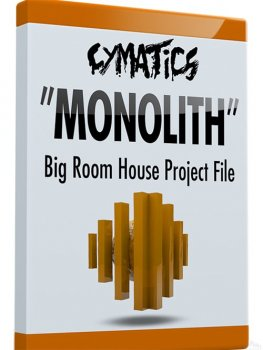 Проект Cymatics Monolith Big Room House Project File