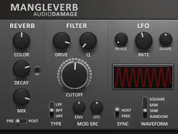 Audio Damage AD032 Mangleverb v1.0.1 x86 x64