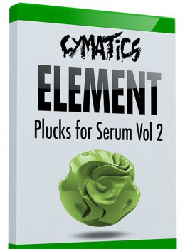 Пресеты Cymatics Element Plucks for Serum Vol.2