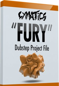 Проект Cymatics Fury Dubstep Project File