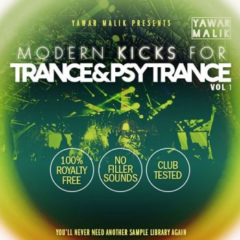 Сэмплы Myloops Yawar Malik Modern Kicks for Trance and Psy Vol.1