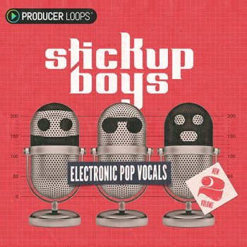 Сэмплы Producer Loops Stick Up Boys Electronic Pop Vocals Vol 2