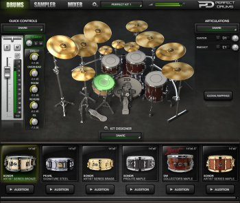 Naughty Seal Audio Perfect Drums v1.6.0 x86 x64