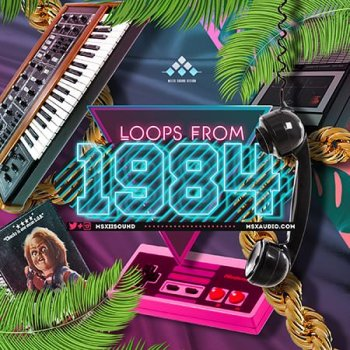 Сэмплы MSXII Sound Loops from 1984